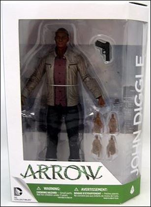 DC Comics: Arrow The TV Series John Diggle