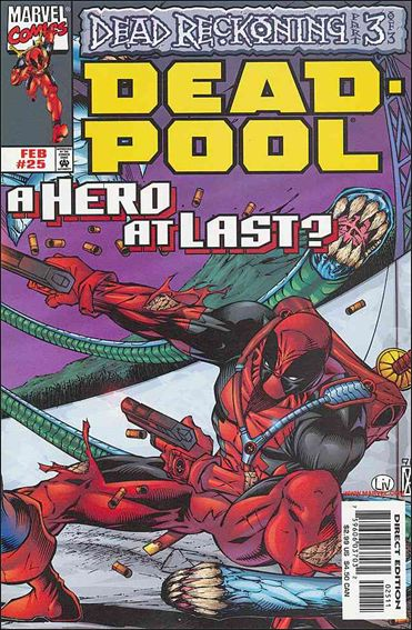 Deadpool (1997) 25-A by Marvel