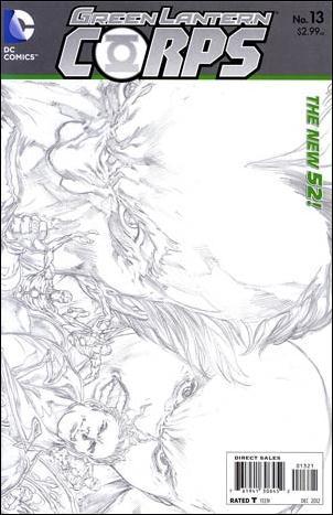 Green Lantern Corps (2011) 13-B by DC