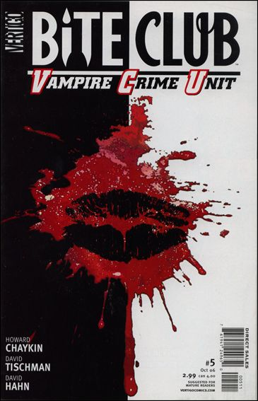 Bite Club: Vampire Crime Unit 5-A by Vertigo