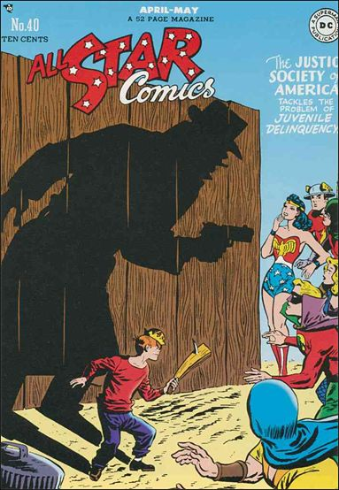 All Star Comics (1940) 40-A by DC