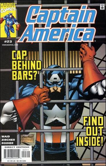 Captain America (1998) 23-A by Marvel