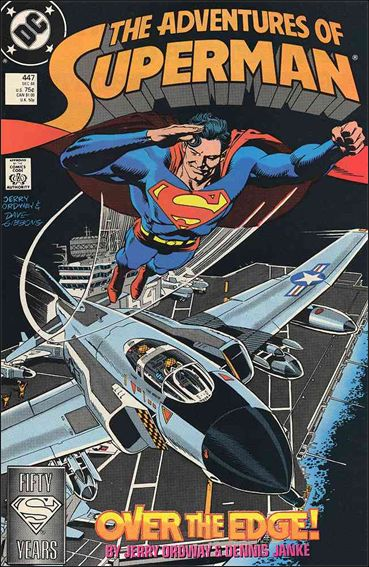 Adventures of Superman (1987) 447-A by DC