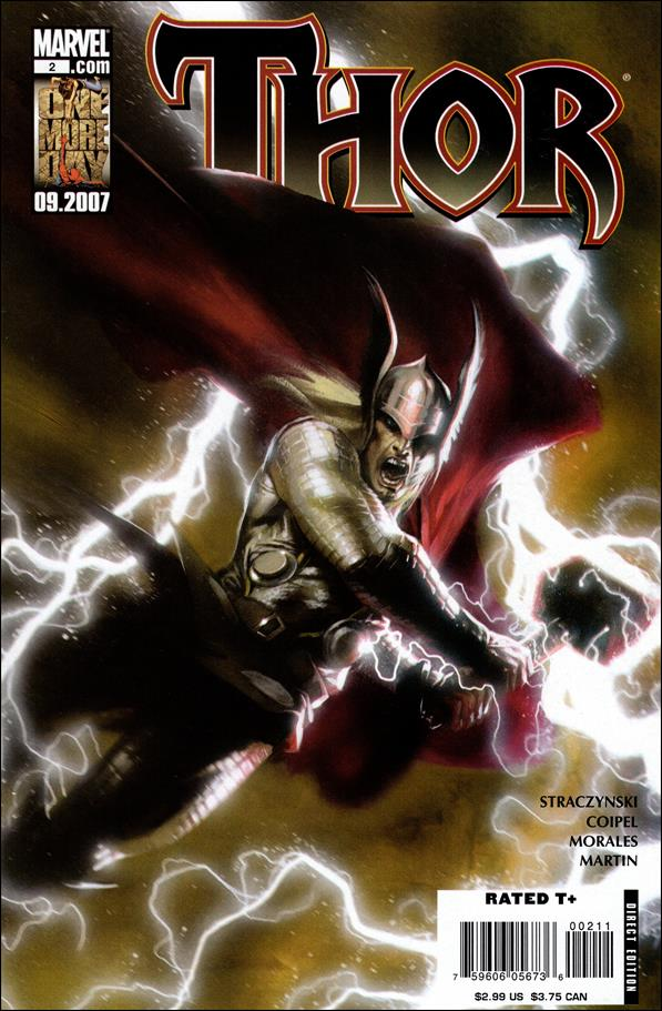 Thor (2007) 2-B by Marvel