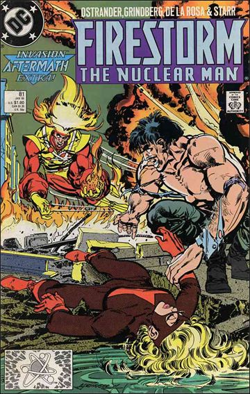 Firestorm The Nuclear Man (1987) 81-A by DC