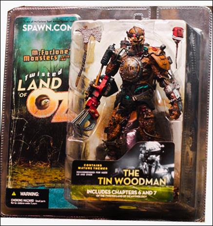 Twisted Land Of Oz Tin Woodman by McFarlane Toys