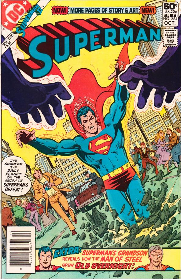 Superman (1939) 364-A by DC