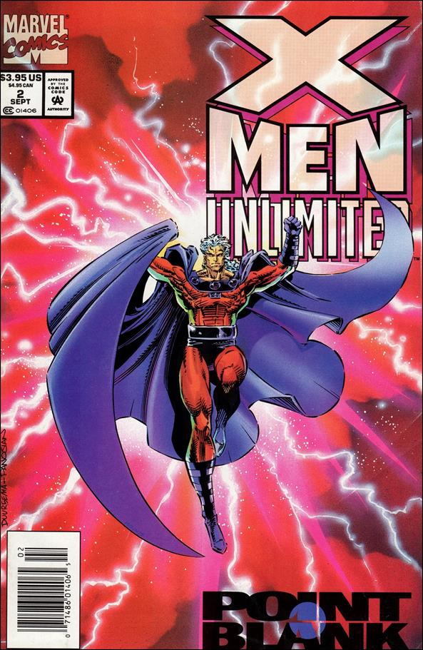 X-Men Unlimited (1993) 2-A by Marvel