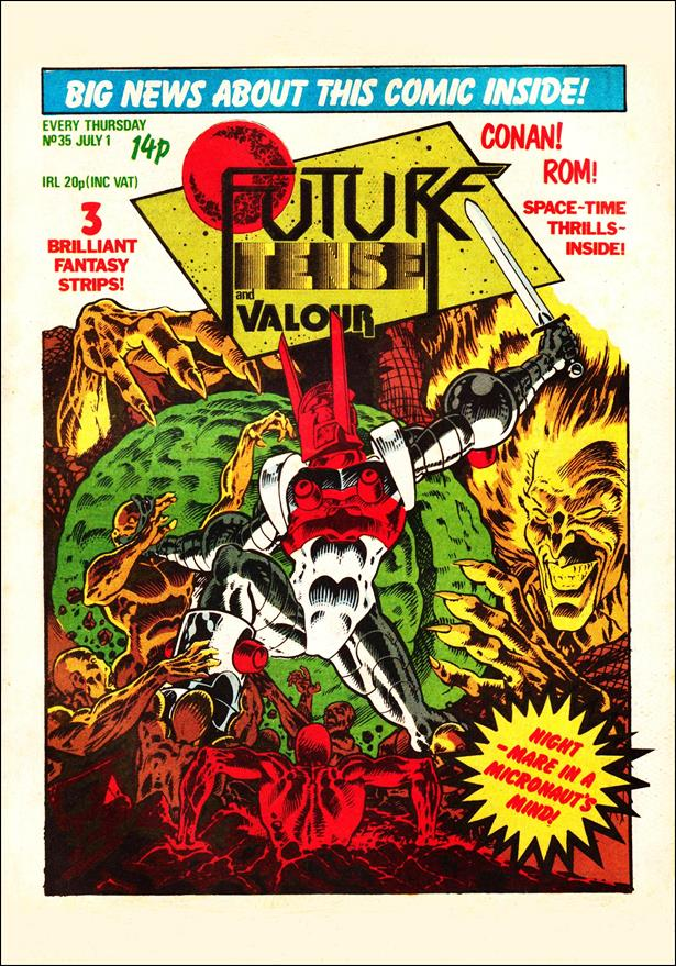 Future Tense (UK) 35-A by Marvel UK