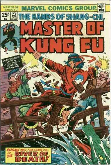 Master of Kung Fu (1974) 23-A by Marvel