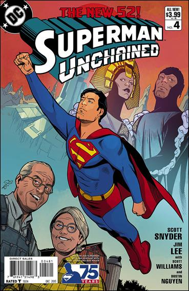 Superman Unchained 4-G by DC