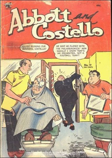 Abbott and Costello (1948) 19-A by St. John