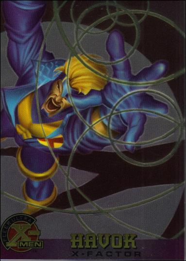 1995 Fleer Ultra X-Men All Chromium (Base Set) 15-A by Fleer