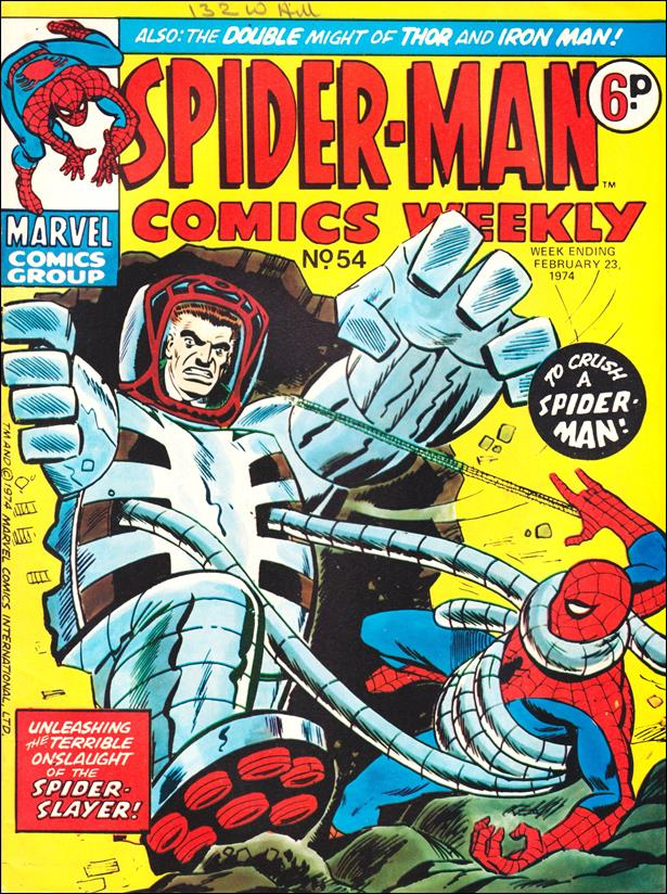 Spider-Man: Comics Weekly (UK) 54-A by Marvel UK