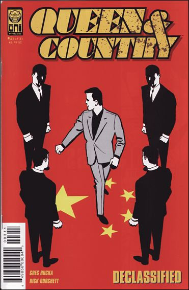 Queen & Country: Declassified (2005/01) 3-A by Oni Press