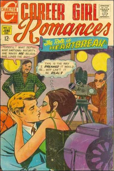 Career Girl Romances 51-A by Charlton
