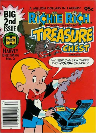 Richie Rich Treasure Chest Digest 2-A by Harvey