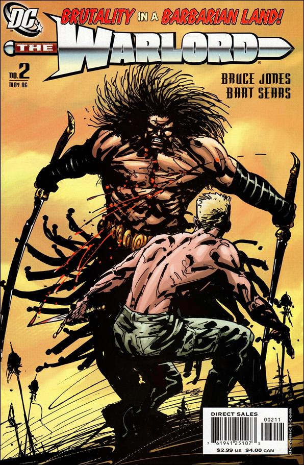 Warlord (2006) 2-A by DC