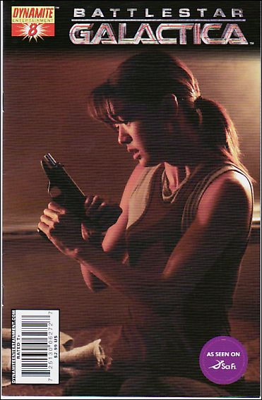 Battlestar Galactica (2006) 8-C by Dynamite Entertainment