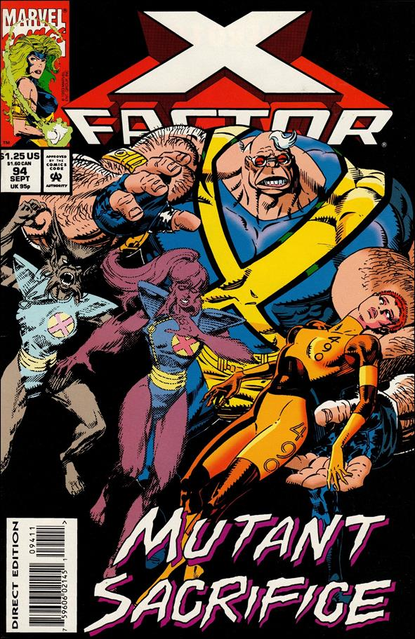 X-Factor (1986) 94-A by Marvel