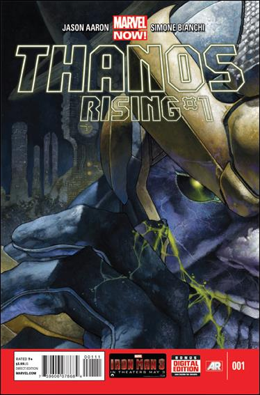 Thanos Rising 1-A by Marvel