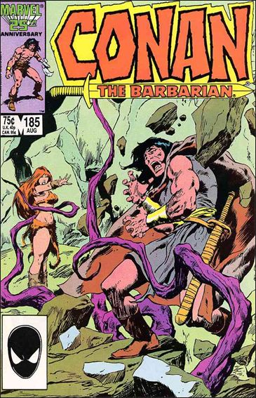 Conan the Barbarian (1970) 185-A by Marvel