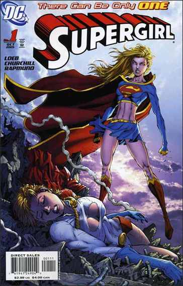 Supergirl (2005) 1-A by DC