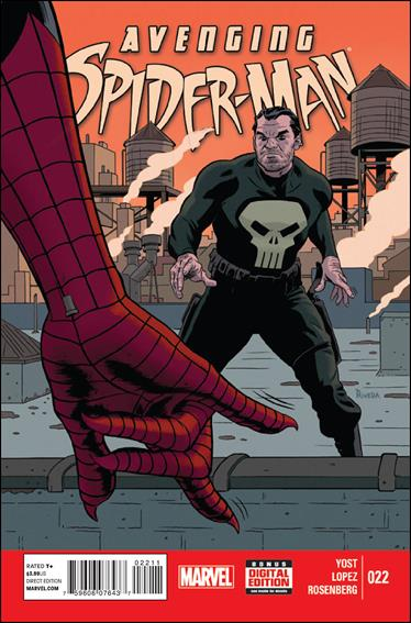 Avenging Spider-Man 22-A by Marvel
