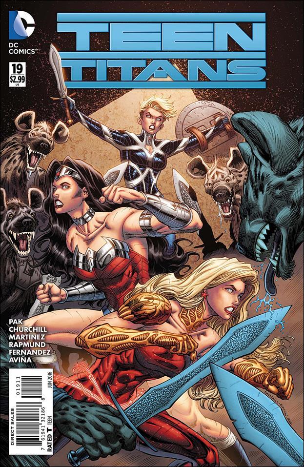 Teen Titans (2014) 19-A