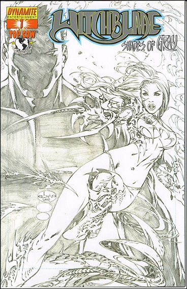 Witchblade: Shades of Gray 1-C by Dynamite Entertainment