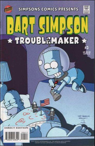 Simpsons Comics Presents Bart Simpson 3-A by Bongo