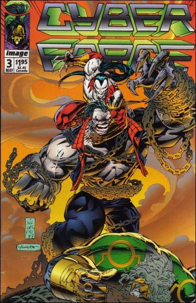 Cyberforce (1992) 3-A by Image