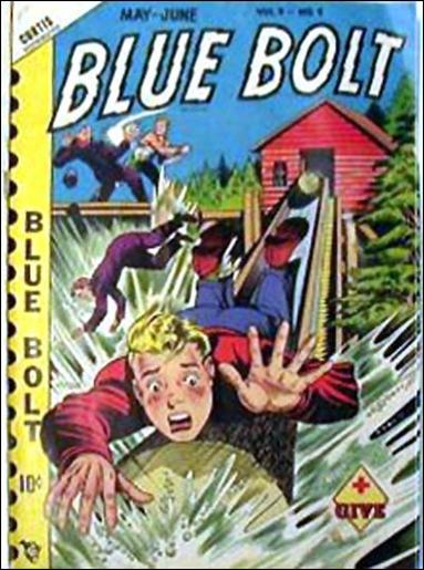 Blue Bolt (1948) 9-A by Premium