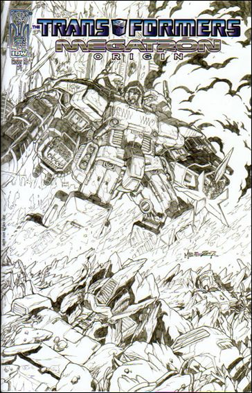Transformers: Megatron Origin 4-C by IDW