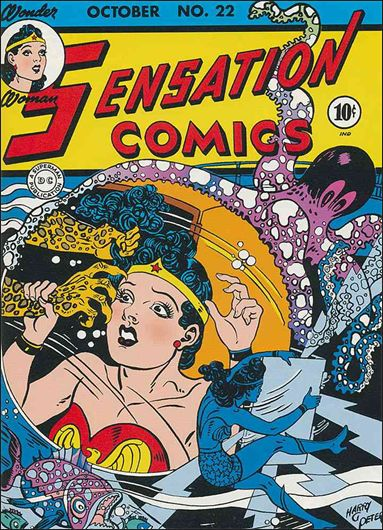 Sensation Comics (1942) 22-A by DC