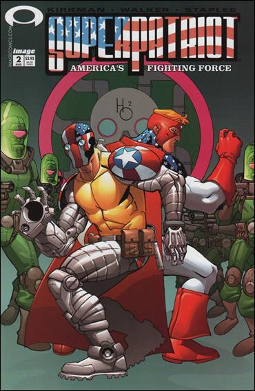 SuperPatriot: America's Fighting Force 2-A by Image