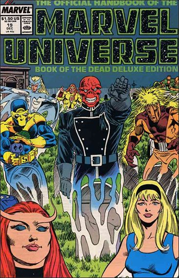 Official Handbook of the Marvel Universe (1985) 19-A by Marvel