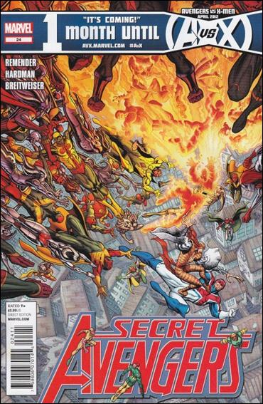 Secret Avengers (2010) 24-A by Marvel