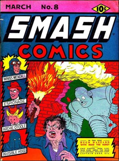 Smash Comics (1939) 8-A by Quality