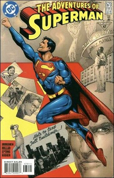 Adventures of Superman (1987) 573-A by DC