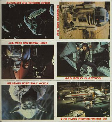 "Star Wars Burger King ""Everybody Wins"" (Promo Uncut Sheet) nn-A by Lucasfilm Ltd."
