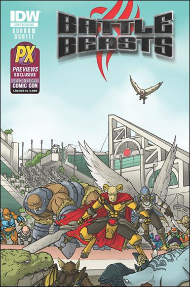 Battle Beasts (2012) 1-D by IDW