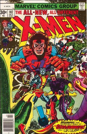 X-Men (1963) 107-A