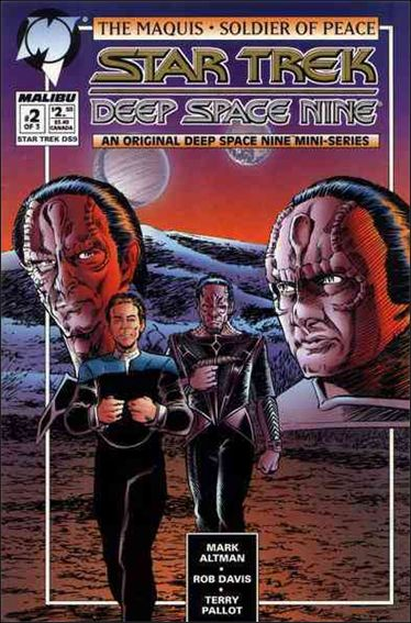 Star Trek: Deep Space Nine Maquis 2-A by Malibu