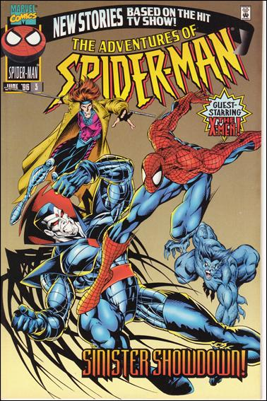 Adventures of Spider-Man / Adventures of the X-Men 3-A by Marvel