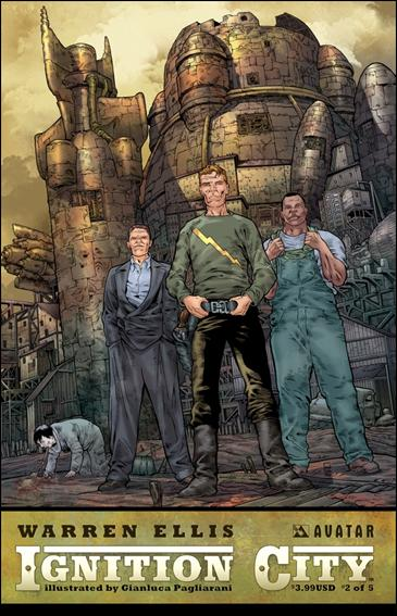 Warren Ellis' Ignition City 2-A by Avatar Press