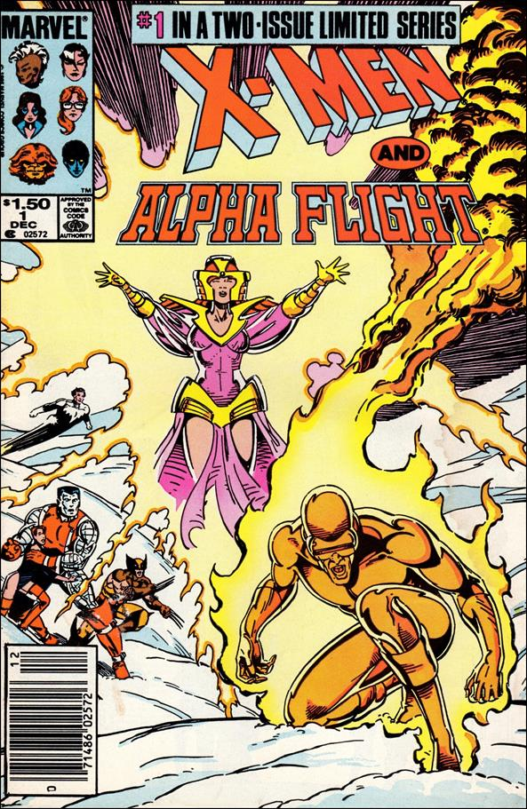 X-Men/Alpha Flight (1985) 1-A by Marvel