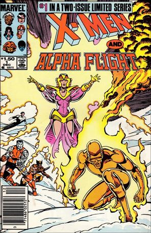 X-Men/Alpha Flight (1985) 1-A