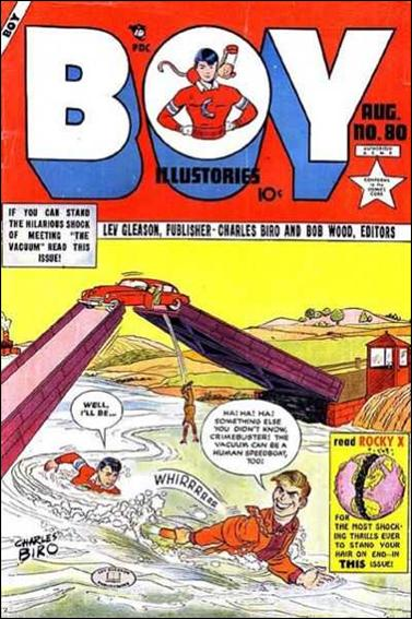 Boy Comics 80-A by Lev Gleason Productions