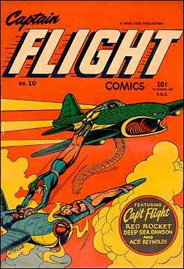 Captain Flight Comics 10-A by Four Star Publications